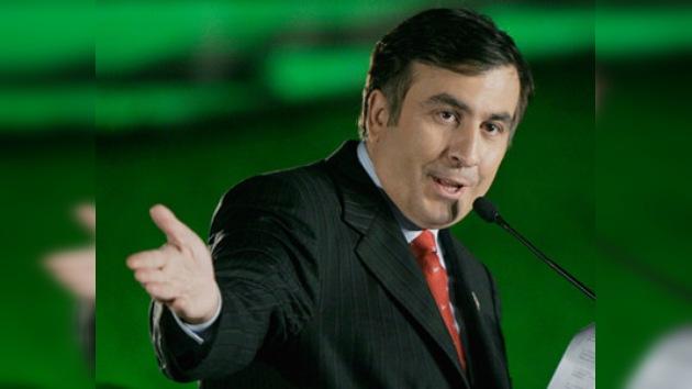 Saakashvili se considera a sí mismo como un Churchill actual