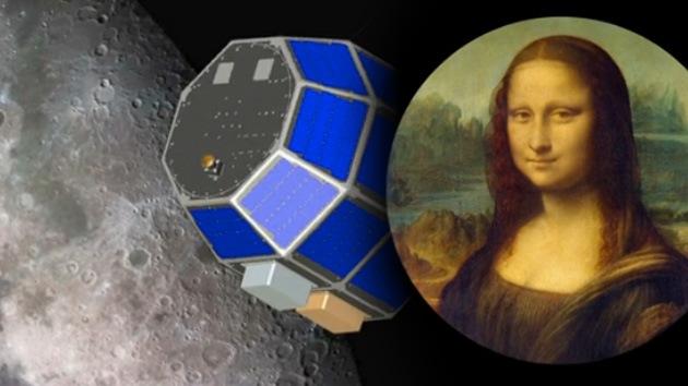 'La Mona Lisa' sonríe en la Luna: la NASA la envía a través de rayos láser