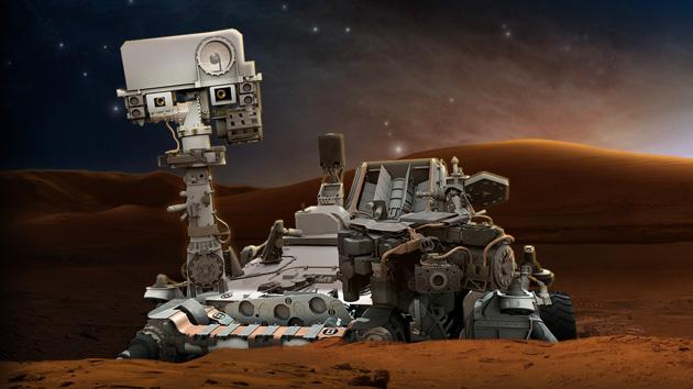 ¡Roca a la vista!: el robot Curiosity ya explora Marte en busca de minerales e hidrógeno