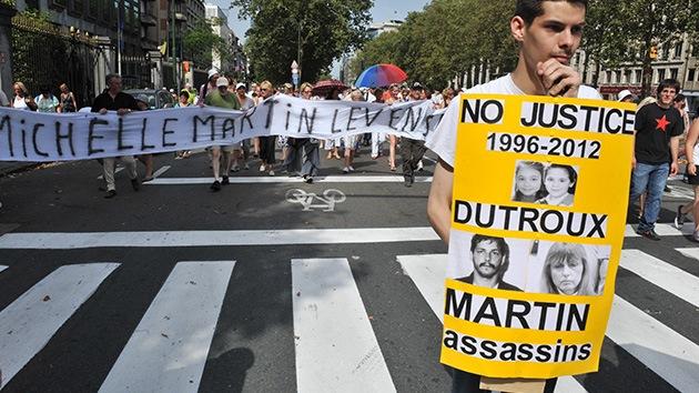 Miles de belgas claman contra la liberación de la ex mujer del pederasta Marc Dutroux
