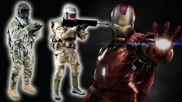 El Ejército de EE.UU. quiere armar a sus soldados con el traje de Iron Man