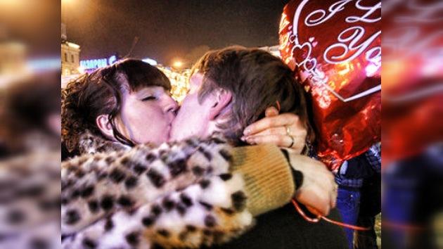 El Día de San Valentín, a la rusa