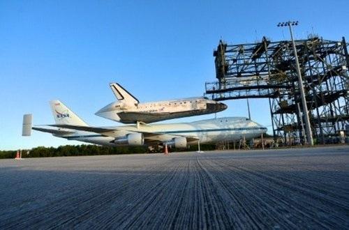 Jubilación estelar: el transbordador Discovery de camino al museo