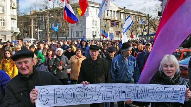 Donetsk, Járkov y Odesa protestan contra la usurpación del poder en Ucrania