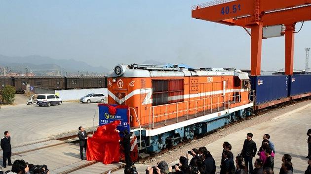 China inaugura la ruta de ferrocarril más larga del mundo vinculando Yiwu y Madrid