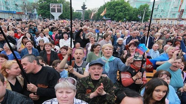 La República Popular de Lugansk adopta una Constitución temporal