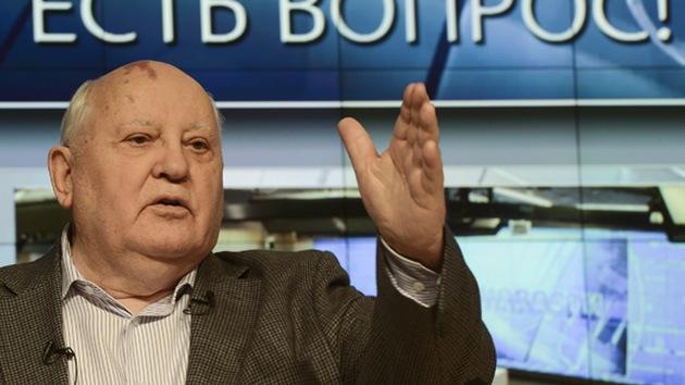 """Gorbachov: """"No podemos confiar en nada de lo que dice EE.UU."""""""