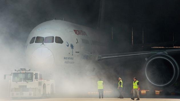 'Aeronave de pesadilla': abortado el vuelo de un Boeing 787 Dreamliner por fallo técnico