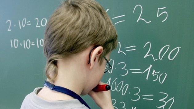 ¿En qué países las matemáticas dejan petrificados a los alumnos?