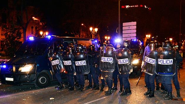 España: Los antidisturbios exigen la dimisión de sus mandos por los incidentes del 22-M