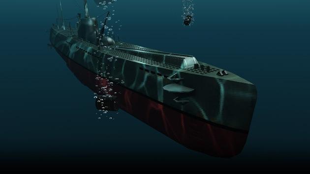 Un submarino no identificado se adentró en aguas de Japón