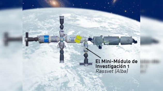 Agencia Federal Espacial de Rusia presentó nuevo módulo espacial