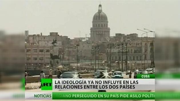 El canciller ruso llega a Cuba