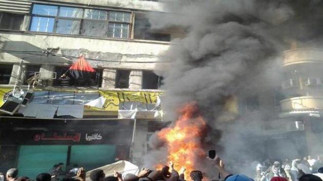 Egipto: Al menos un muerto y decenas de heridos en un asalto de la sede de los Hermanos Musulmanes