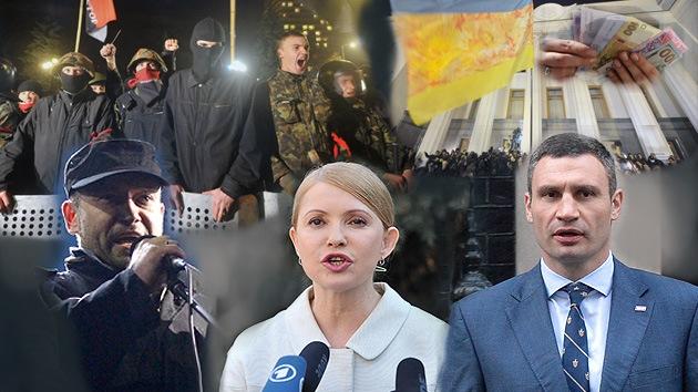 Maidán 'sin cabeza': ¿Habrá un líder en la Ucrania 'europea'?