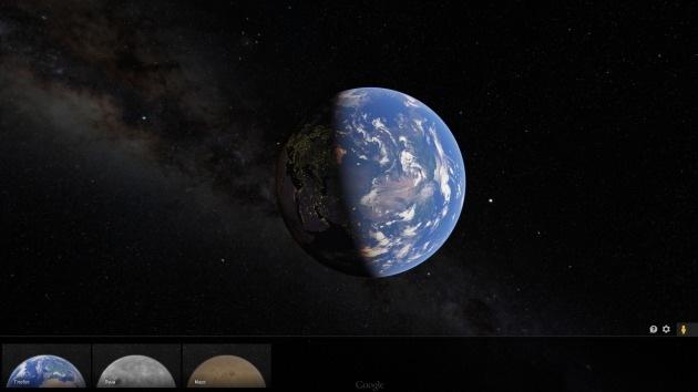 A Google Maps la Tierra se le queda pequeña: ya se pueden ver mapas de la Luna y Marte