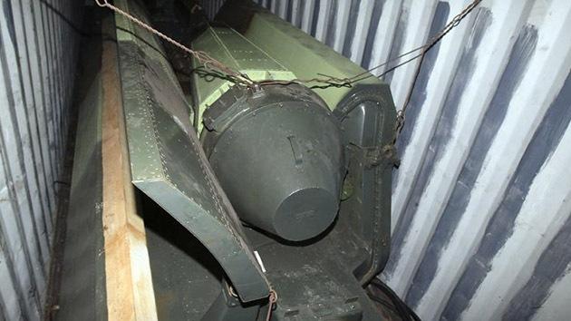 """El buque retenido en Panamá llevaba armamento """"obsoleto"""" de Cuba para reparar"""