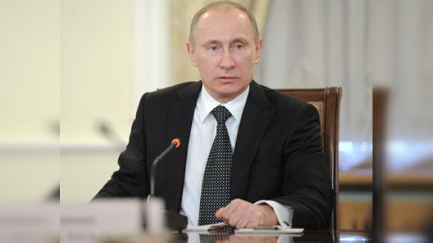 Putin: El pueblo sirio debe definir su futuro