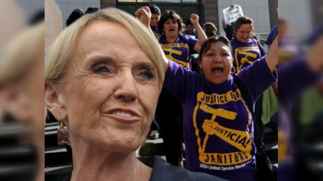La polémica Ley migratoria da más popularidad a la gobernadora de Arizona