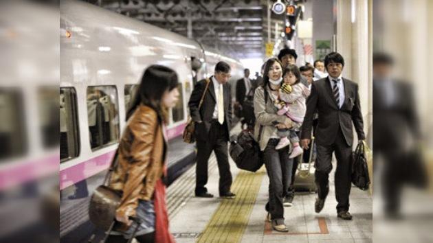 Vuelve a funcionar el tren bala entre Tokio y las regiones más afectadas por el sismo