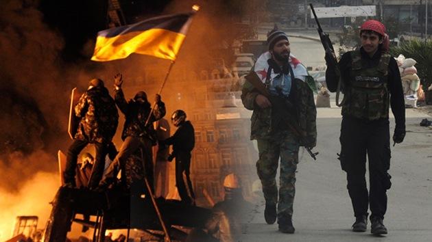 Balance semanal: La violencia azota Ucrania, Ginebra 2 busca la paz en Siria, los ricos del mundo se reúnen en Davos