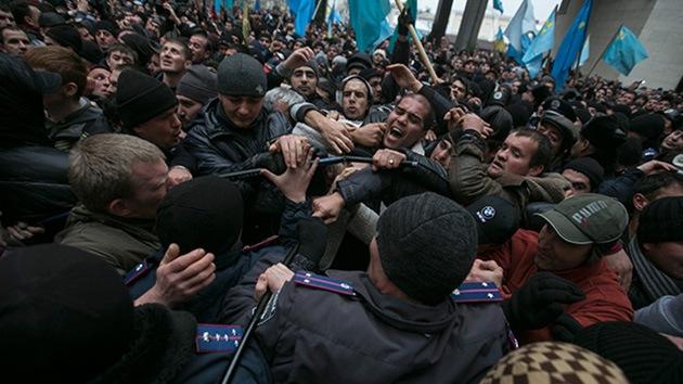 Fotos: Vea qué pasa en las calles de Ucrania