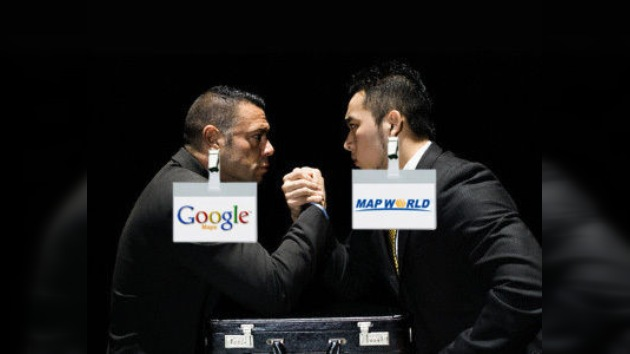 China lanza 'Map World', un pulso contra Google que empieza con 'flaquezas'