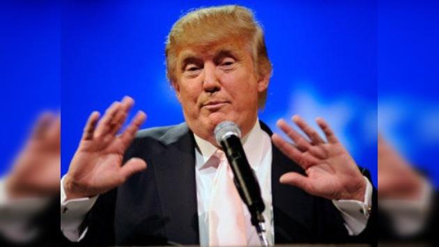 El millonario Donald Trump por sorpresa negó postularse para la presidencia de 2012