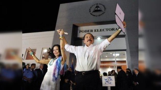 Daniel Ortega recibe la credencial para el nuevo mandato presidencial