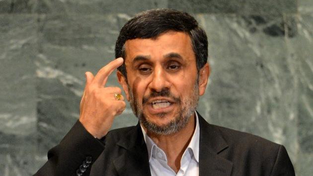 """Ahmadineyad a Occidente: """"Al diablo con ustedes"""""""
