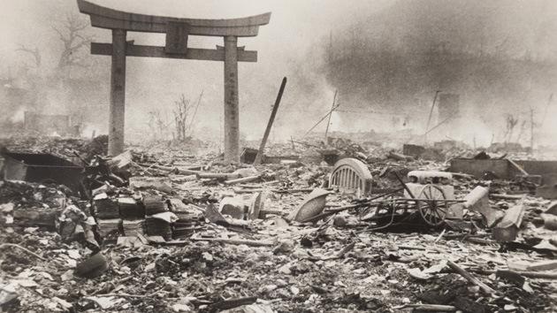 Fotos: Nagasaki un día después de la bomba atómica en unas imágenes nunca antes vistas