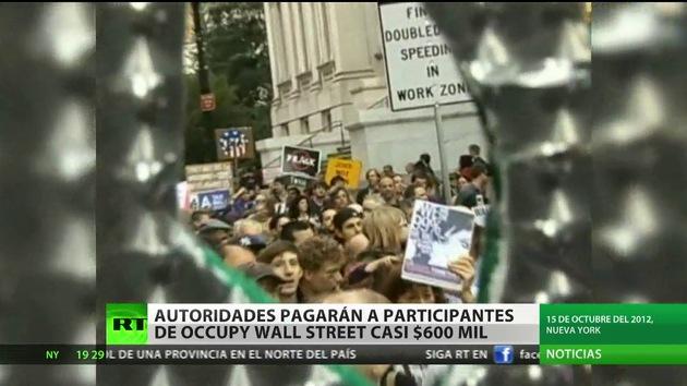 Nueva York pagará 600.000 dólares a activistas del movimiento Ocupa Wall Street