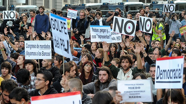 En vivo: Madrid vuelve a 'rodear' el Congreso