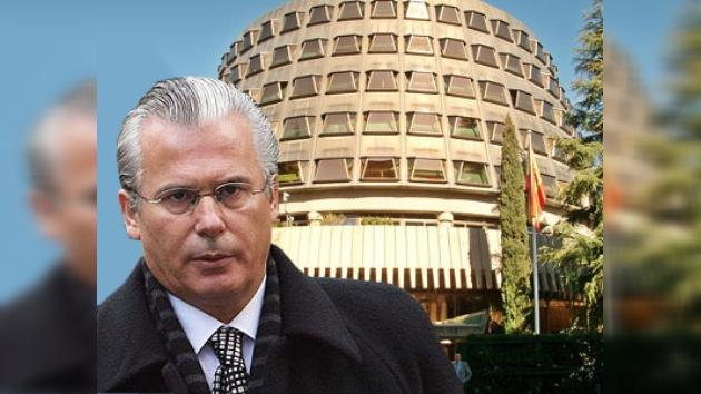 El juez Baltasar Garzón recurre ante el Constitucional su condena de inhabilitación