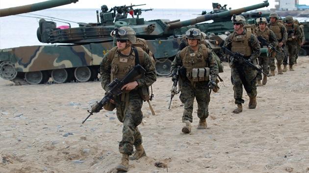 EE.UU. y Corea del Sur anuncian ejercicios militares y alertan de un ensayo nuclear del Norte