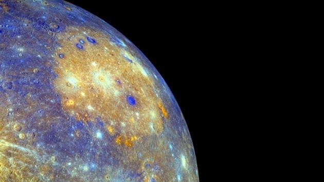 La NASA saca los colores a Mercurio: la sonda Messenger obtiene sus fotos más vívidas