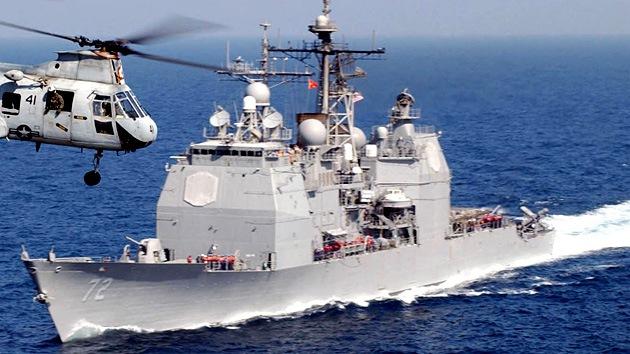 El buque militar estadounidense Vella Gulf entró en aguas del Mar Negro