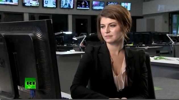 La corresponsal de RT Alexandra Bondarenko contesta a las preguntas de los internautas