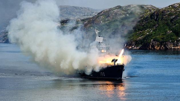 La Marina rusa lanza con éxito misiles de crucero en el Mar de Barents