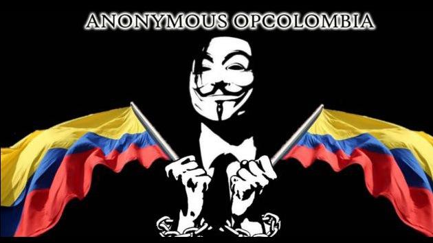 Anonymous tumba la web de la Policía de Colombia por su maltrato a los indignados