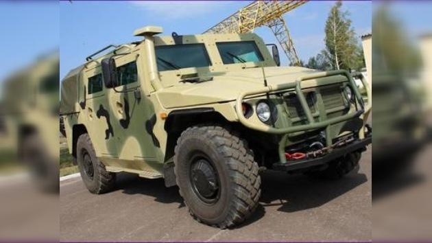 Rusia diseña el 'Tigr-6A', un todoterreno blindado hasta los dientes