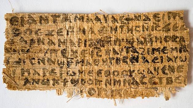 ¿Estaba casado Cristo?: Demuestran que el 'Evangelio de la esposa de Jesús' es un papiro antiguo