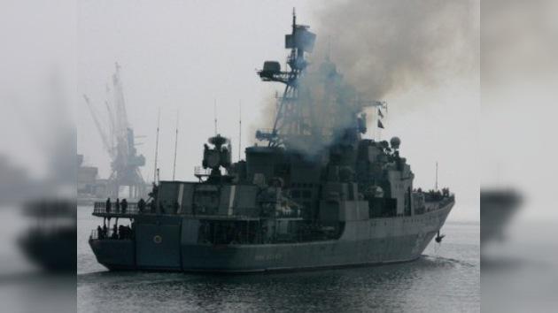 Militares rusos liberan a piratas somalíes