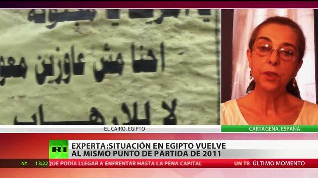 """""""Egipto ha vuelto al mismo punto de partida en el que estaba en 2011"""""""