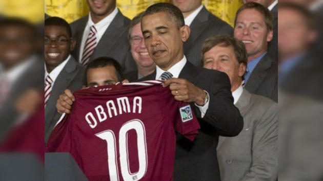 "Barack Obama: ""Messi y yo, al mismo nivel"""