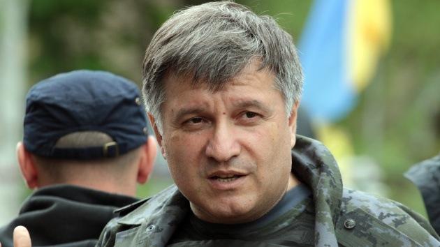 Conflicto verbal en Ucrania entre el ministro del Interior y el de Defensa