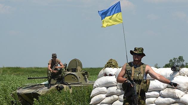 Ucrania comienza a levantar un 'muro' en la frontera con Rusia