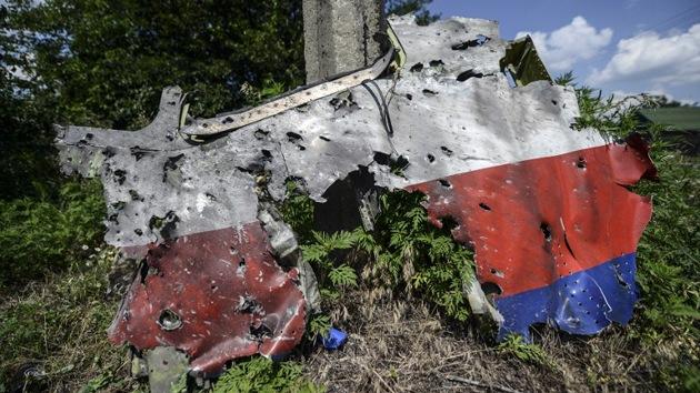 Expertos: El MH17 debió caer en Rusia y fue derribado por un avión ucraniano