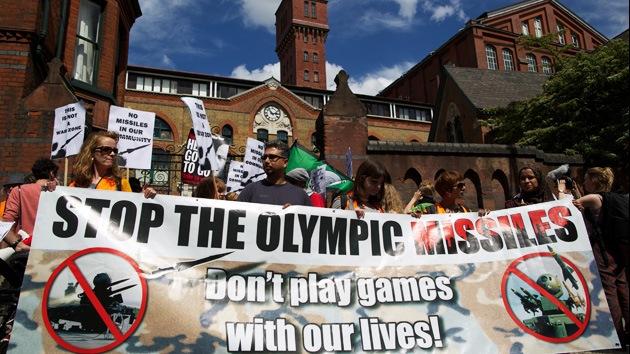 Londres 2012: vecinos demandan al Gobierno por la instalación de misiles en sus azoteas