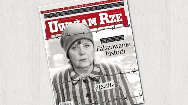 'Guerra' mediática polaco-germana: ¿Es Merkel una 'prisionera' del antisemitismo?